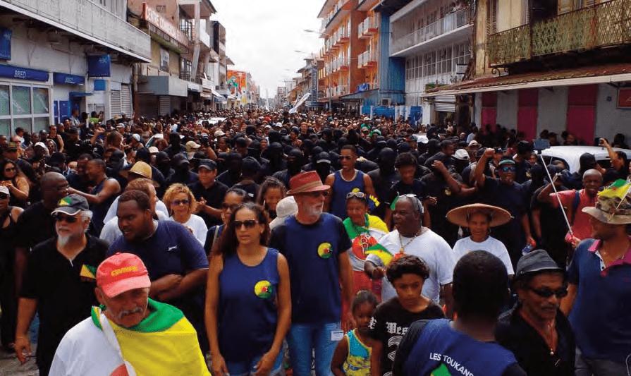 Grève générale en Guyane