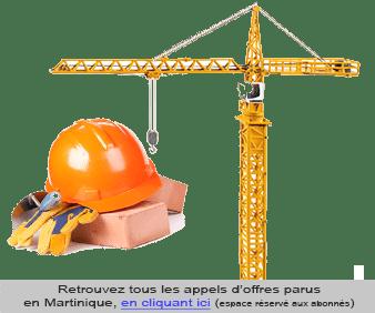 Appel d'offre Martinique